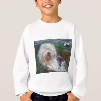 Agasalho Pintura inglesa velha bonita da arte do cão do