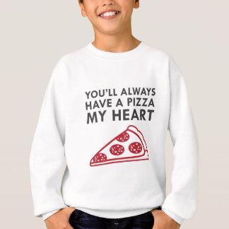Agasalho Pizza meu coração