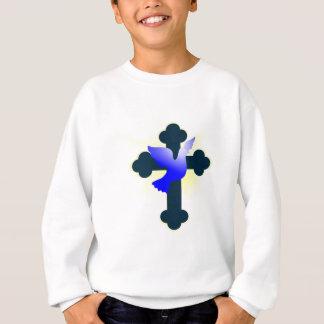 Agasalho Pomba e cruz