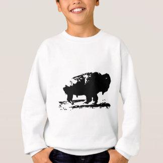 Agasalho Pop art Running do bisonte do búfalo