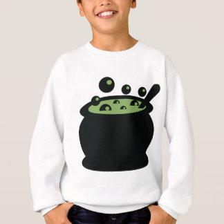 Agasalho Pote preto e verde do cozinhar
