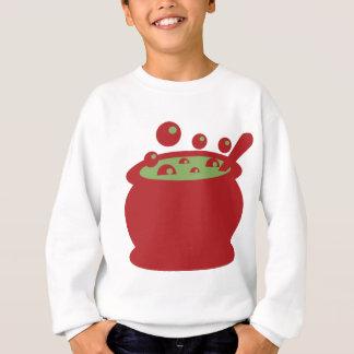 Agasalho Pote vermelho e verde do cozinhar