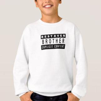 Agasalho Presente perfeito do melhor t-shirt engraçado do