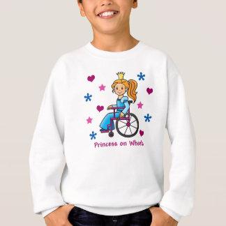 Agasalho Princesa da cadeira de rodas