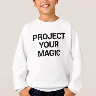 Agasalho Projete sua mágica