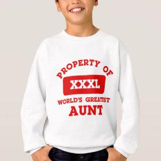 Agasalho Propriedade da grande tia do mundo