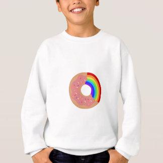 Agasalho Prove a rosquinha do arco-íris