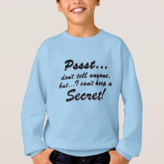Agasalho Pssst… eu não posso manter um SECRETO (o preto)