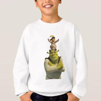 Agasalho Puss nas botas, asno, e Shrek