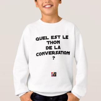 AGASALHO QUAL É O ATUM DA CONVERSAÇÃO