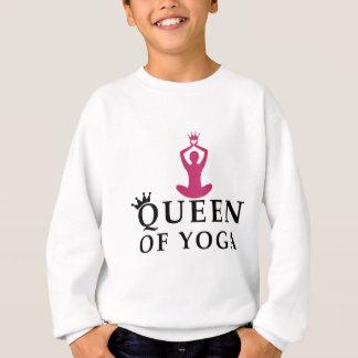 Agasalho rainha da coroa da ioga