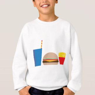 Agasalho refeição do fast food