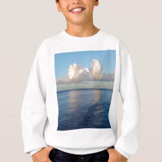 Agasalho Reflexões da nuvem do Seascape do amanhecer