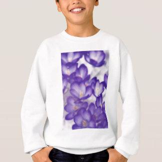 Agasalho Remendo da flor do açafrão da lavanda