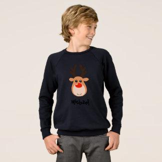Agasalho Rena com a camisola do menino conhecido