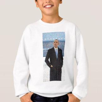 Agasalho Retrato abstrato do presidente Barack Obama 10a.jp