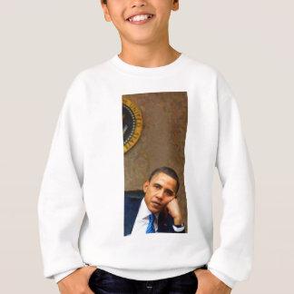 Agasalho Retrato abstrato do presidente Barack Obama 11