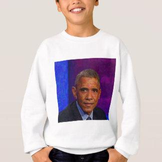 Agasalho Retrato abstrato do presidente Barack Obama 7