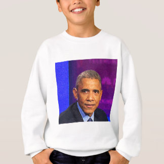 Agasalho Retrato abstrato do presidente Barack Obama 8