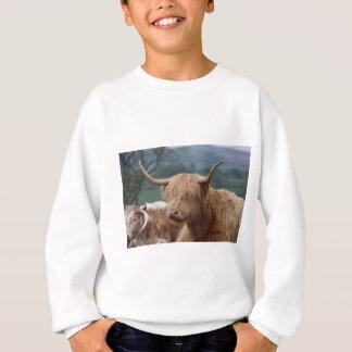 Agasalho retrato do gado das montanhas