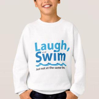 Agasalho Riso e natação… apenas não ao mesmo tempo