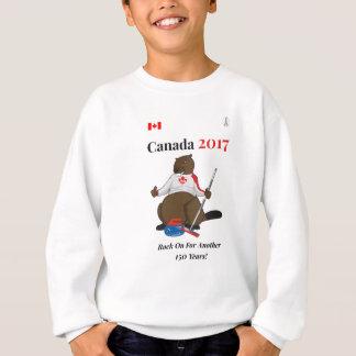Agasalho Rocha de ondulação de Canadá 150 em 2017 sobre