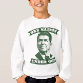 Agasalho Ronald Reagan uma nação sob o deus