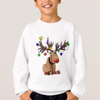 Agasalho Rudolf a rena cheirada vermelha