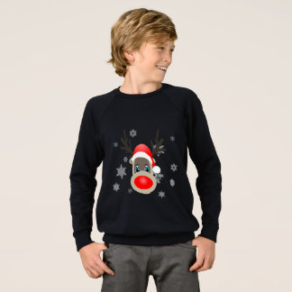 Agasalho Rudolf - rena do Natal