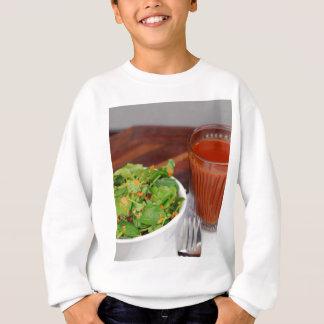 Agasalho Salada de agrião do molho do tomate da cenoura do