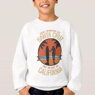 Agasalho Santa Cruz surfando