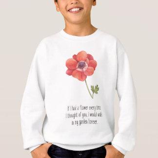 Agasalho Se eu tive uma flor