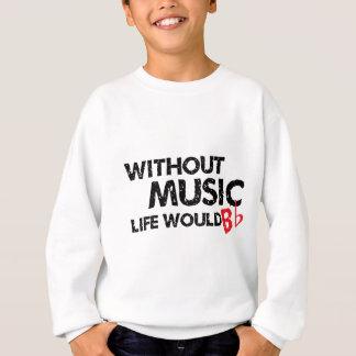 Agasalho Sem vida da música B (seja) liso