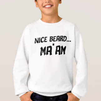 Agasalho Senhora agradável da barba