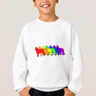 Agasalho Sheepdog do belga do arco-íris