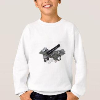 Agasalho Silenciador do supressor da arma de fogo com luvas