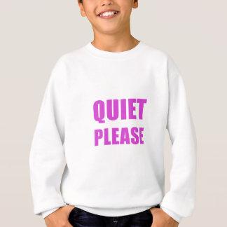 Agasalho Silêncio por favor