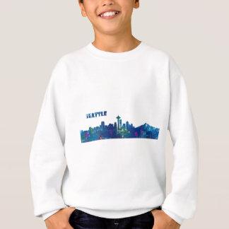 Agasalho Silhueta da skyline de Seattle