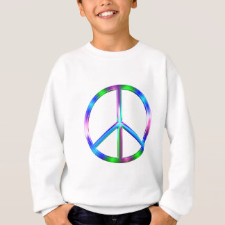Agasalho Sinal de paz colorido brilhante