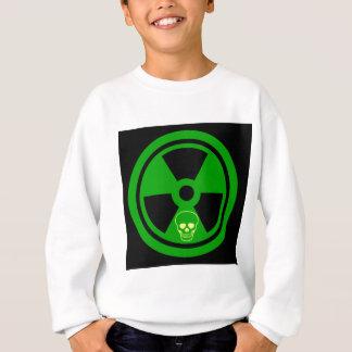 Agasalho Sinal radioativo do cuidado com crânio