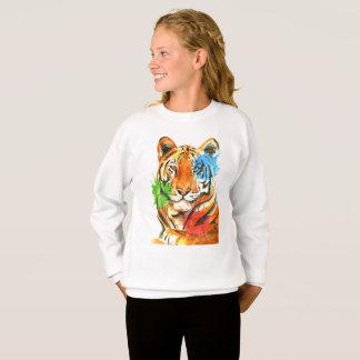 Agasalho Splatter do tigre