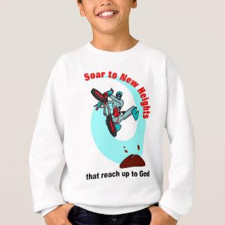 Agasalho Suba às alturas novas que alcançam até o deus