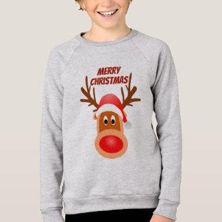 Agasalho T de Rudolph do Feliz Natal