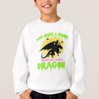 Agasalho T do dragão do Dia das Bruxas
