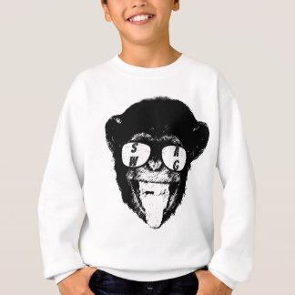 Agasalho T-shirt do chimpanzé dos ganhos