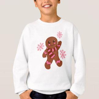 Agasalho T-shirt do floco de neve do pão-de-espécie