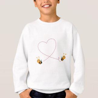Agasalho T-shirt dos DESENHISTAS com abelhas do amor