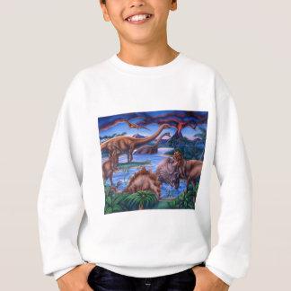 Agasalho T-shirt dos dinossauros