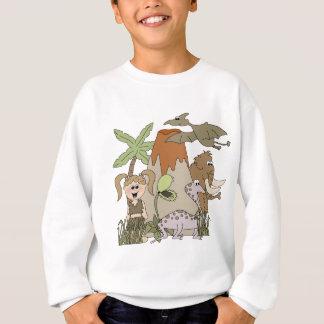 Agasalho T-shirt e presentes da vida pré-histórica da