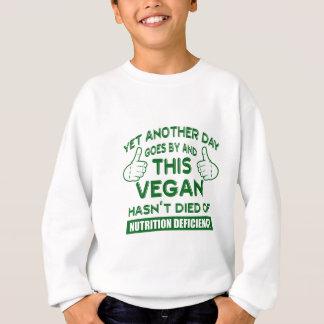 Agasalho T-shirt engraçado do Vegan